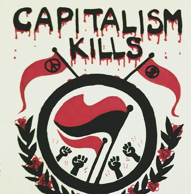 'Capitalism Kills' thumbnail'